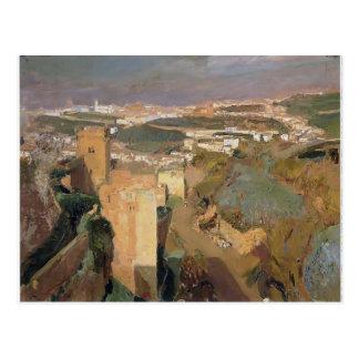 Joaquín Sorolla- torn av sju, pont Alhambra Vykort