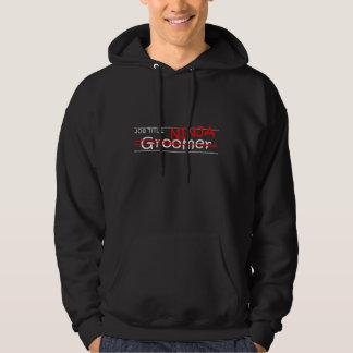Jobbtitel Ninja - Groomer Sweatshirt Med Luva