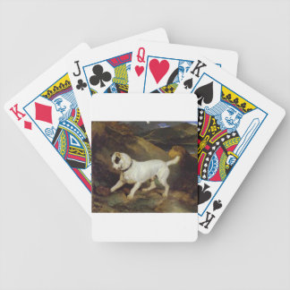 Jocko med en igelkott av Edwin Henry Landseer Spelkort