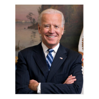 Joe Biden vykort