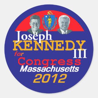 Joe KENNEDY klistermärke