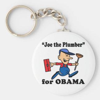 Joe rörmokaren för Obama Rund Nyckelring