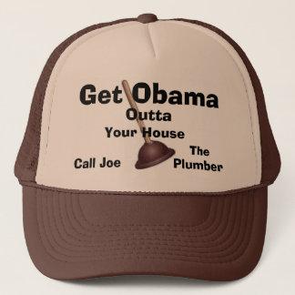 Joe rörmokaren Lock-Får Obama Outta. Truckerkeps