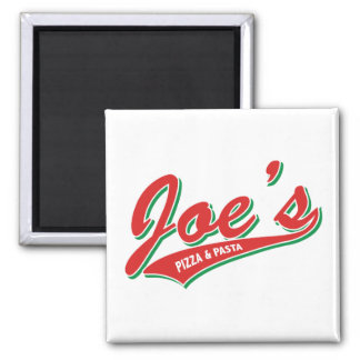 Joes Pizza & pasta Magnet