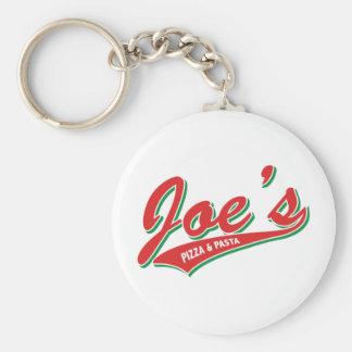 Joes Pizza & pasta Rund Nyckelring