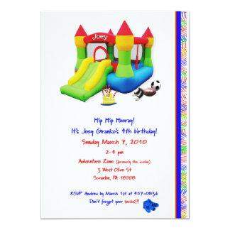 joeys birthday. 12,7 x 17,8 cm inbjudningskort