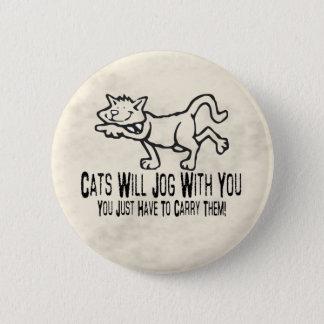 Jogga katter standard knapp rund 5.7 cm