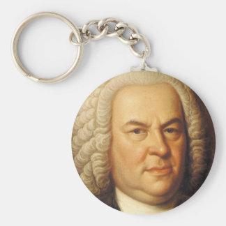 Johann Sebastian Bach objekt Rund Nyckelring