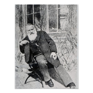 Johannes Brahms c.1897 Poster