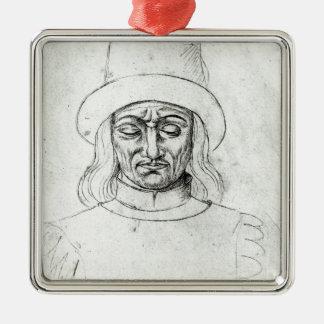 John av Luxembourg Julgransprydnad Metall