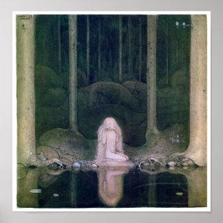 John Bauer (1913) Tuvstarr affisch