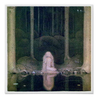 John Bauer (1913) Tuvstarr affisch Poster