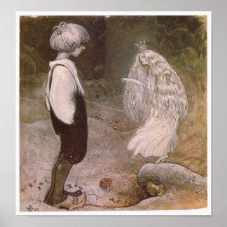 John Bauer ändrande av den magiska affischen Poster