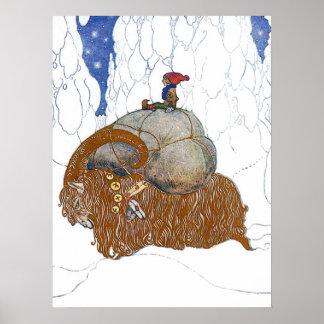 John Bauer julgeten Poster