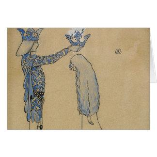 John Bauer - sätt därefter princen en krona av Hälsningskort