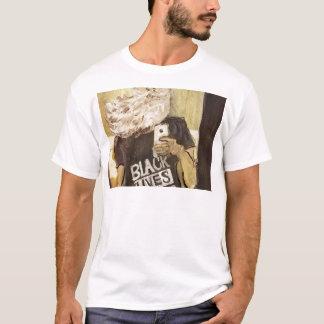 John brun Selfie/svartlivmateria Tee Shirts