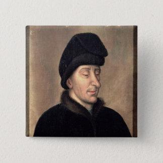 John det oförskräckt, hertig av Burgundy Standard Kanpp Fyrkantig 5.1 Cm