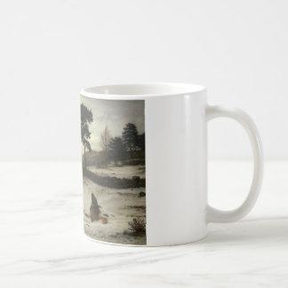 John Everett Millais - vind för vinter för Kaffemugg