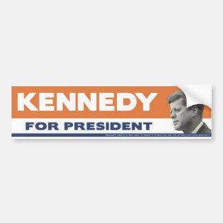 John F. Kennedy 1960 för presidentbildekal