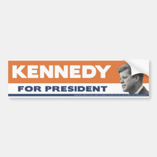 John F. Kennedy 1960 för presidentbildekal Bildekal