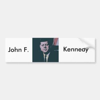 John F. Kennedy Bildekal