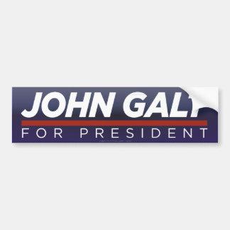 John Galt för presidentbildekal Bildekal