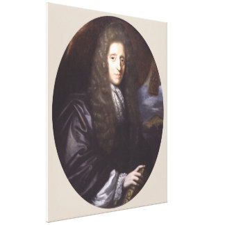 John Locke av Herman Verelst Canvastryck