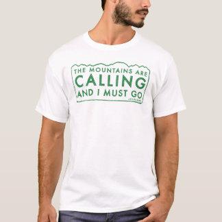 John Muir berg Tee Shirt