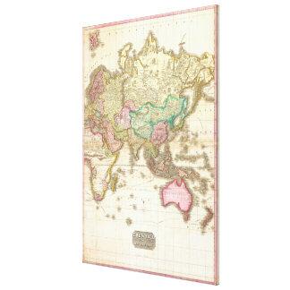 John Pinkerton karta 1818 av den östliga Canvastryck