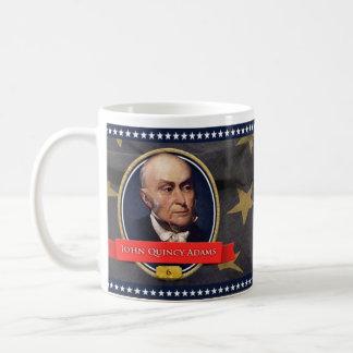 John Quincy Adams historisk mugg