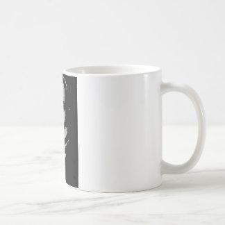 John Quincy Adams silhouette Kaffemugg