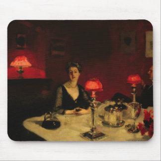 John sångare Sargent - ett middagbord på natten Musmatta