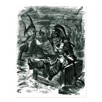 John Tenniel: Davy Jones skåp Vykort