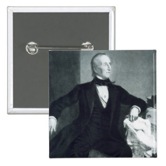 John Tyler 10th president av Förenta staterna av Standard Kanpp Fyrkantig 5.1 Cm