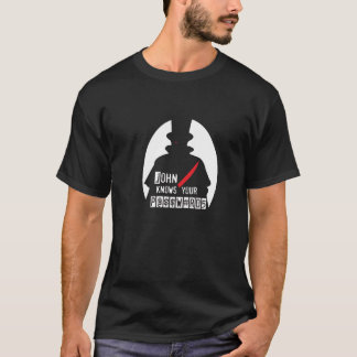 John vet dina lösenord H@CK3R T (Hacker T) Tee Shirt