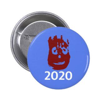 Johnson och kampanjen för härvor 2020 knäppas - standard knapp rund 5.7 cm