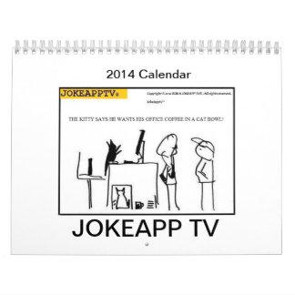 JokeAppTv tecknadkalender 2014 Kalender