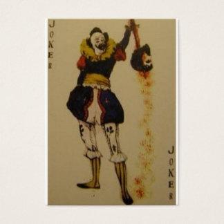 joker cards3 visitkort