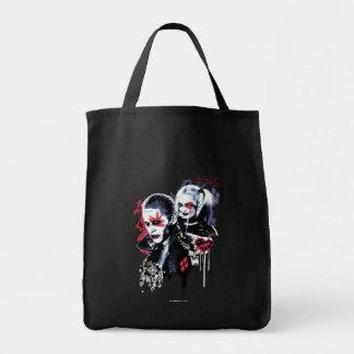 Joker för självmordSquad | & Harley målade Tygkasse