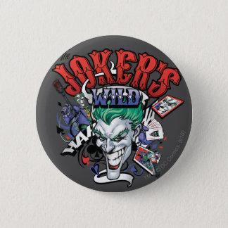Joker'sens vild standard knapp rund 5.7 cm