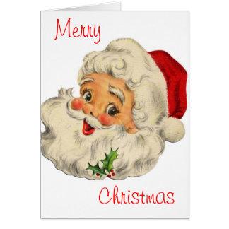 Jolly jultomten hälsningskort