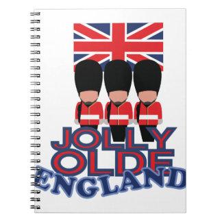 Jolly Olde England Spiralbundna Anteckningsböcker