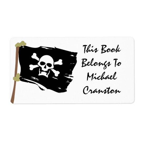 Jolly Roger etikett Fraktsedel