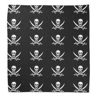 Jolly roger piratflagga scarf