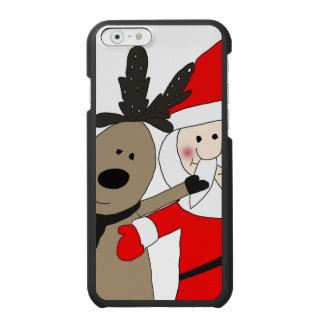 Jolly Santa och ren #1