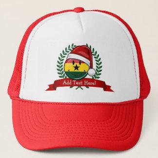 Jolly stil för Ghanian flaggajul Truckerkeps