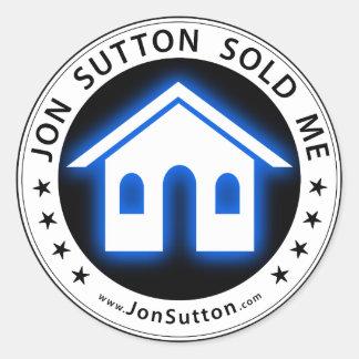 Jon Sutton sålde mig Runt Klistermärke