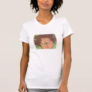 Jons dag för dåligahår, kvinna skjorta tee shirt