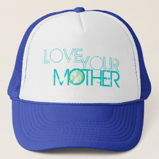 """Jord """"älska för din mor"""" truckerkeps"""