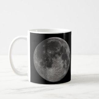 Jord fullmåne kaffemugg